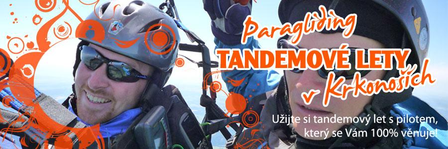 paragliding tandem Martin Kohlicek